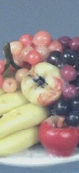Plateau de fruits en céramique