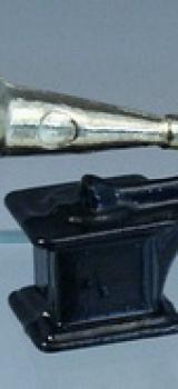 Phonographe en métal