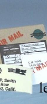 Assortiment courrier et colis