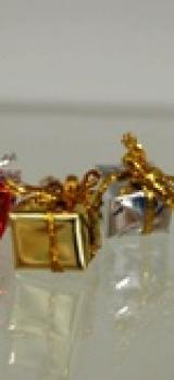 6 paquets cadeaux couleurs assorties