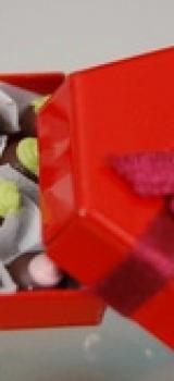boite de chocolats de Noël